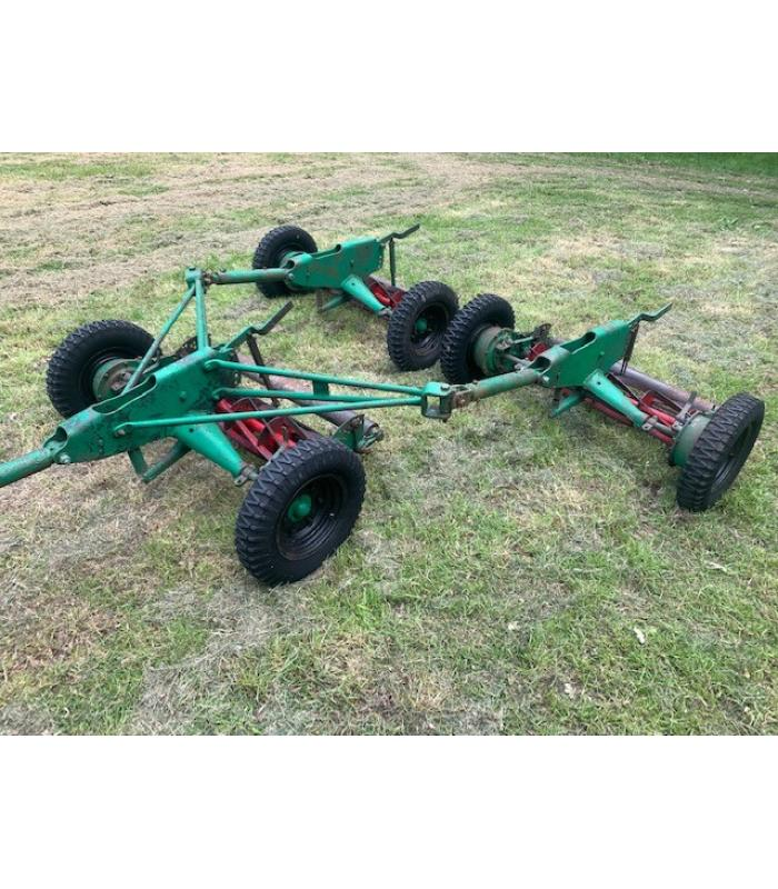 Ransomes Set of 3 Trailed Gang Mower