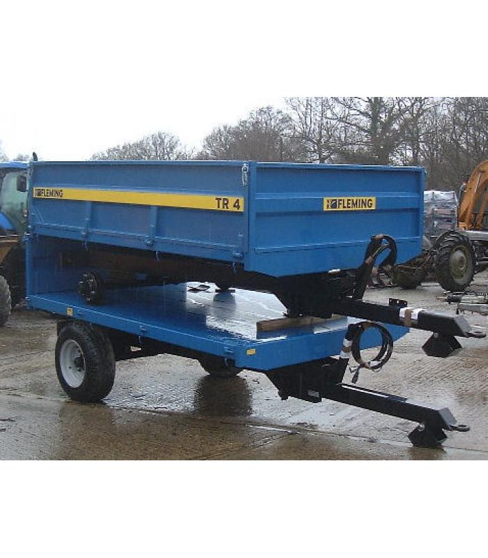 New Fleming TR4 Tipping Trailer