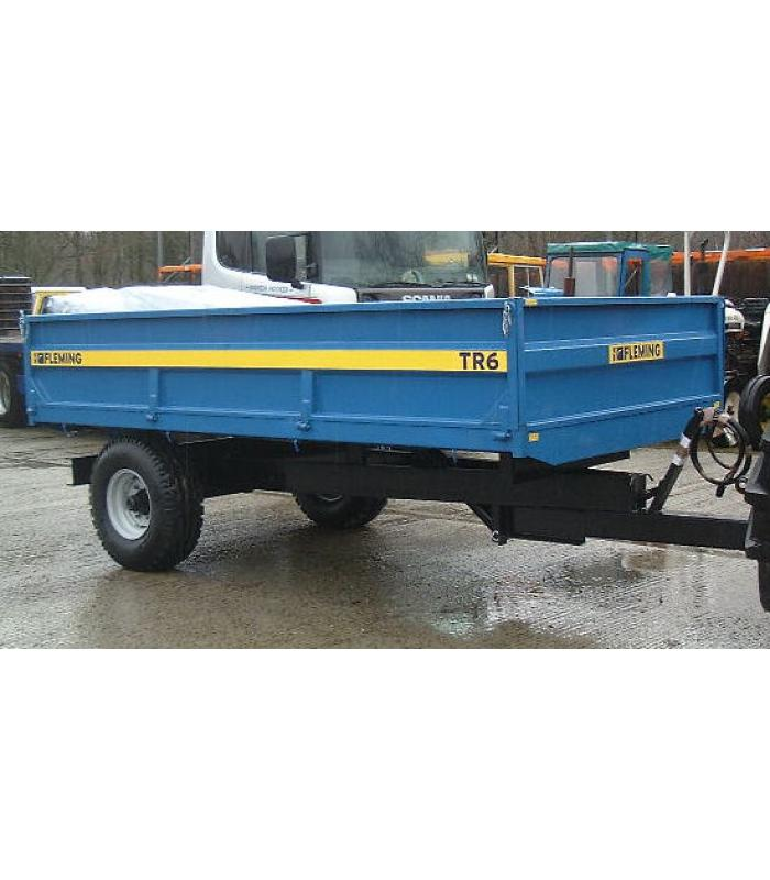 New Fleming TR6 Tipping Trailer