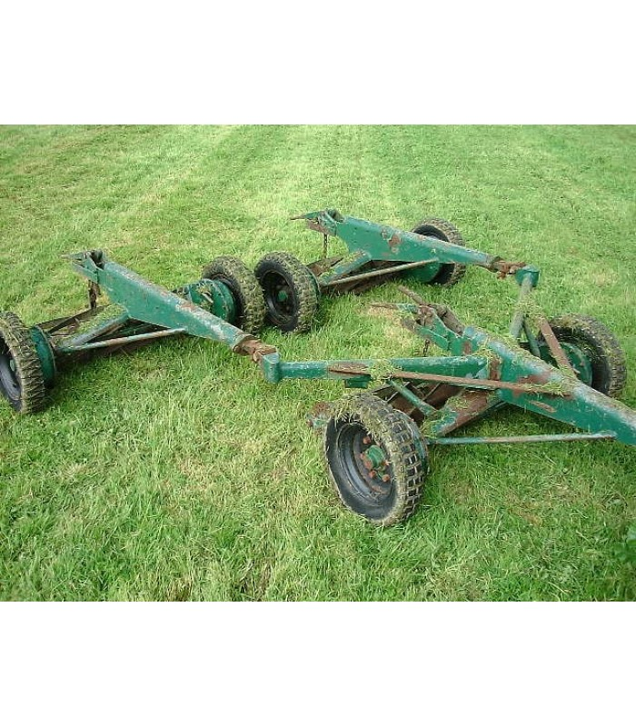 Greens Set of 3 Trailed Gang Mowers