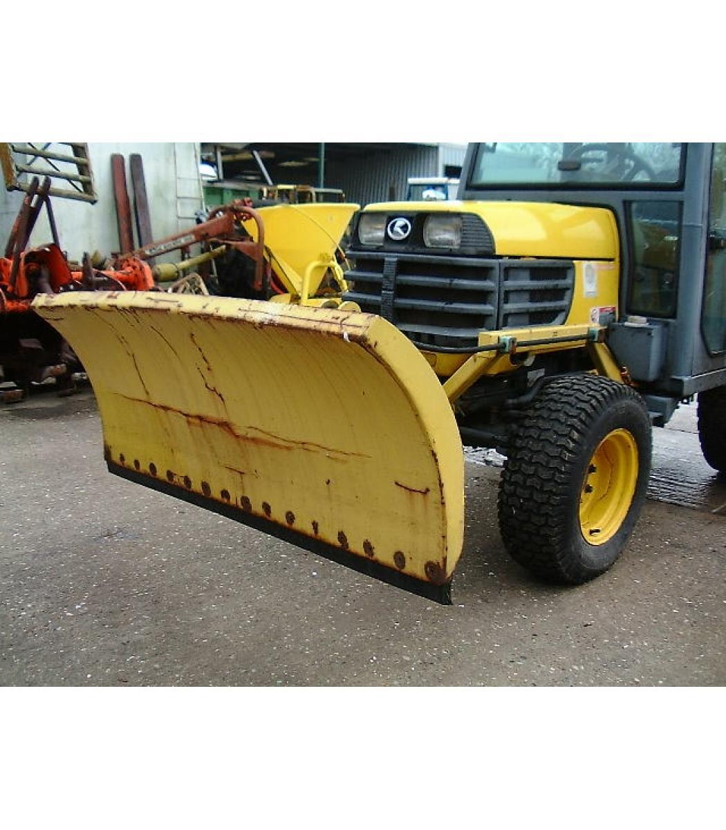 Kubota Mower Blades : Snow blade to fit kubota b series tractor