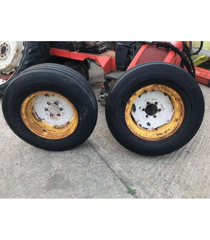 Pair of 12.8 x 18 Wheels