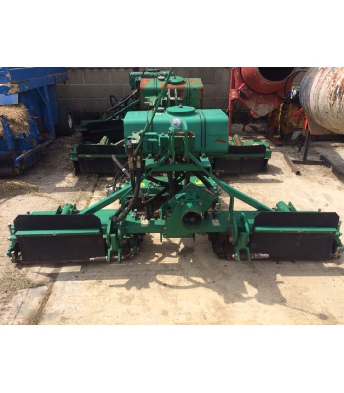 Ransomes Mounted 214 Scarifier Set of 3