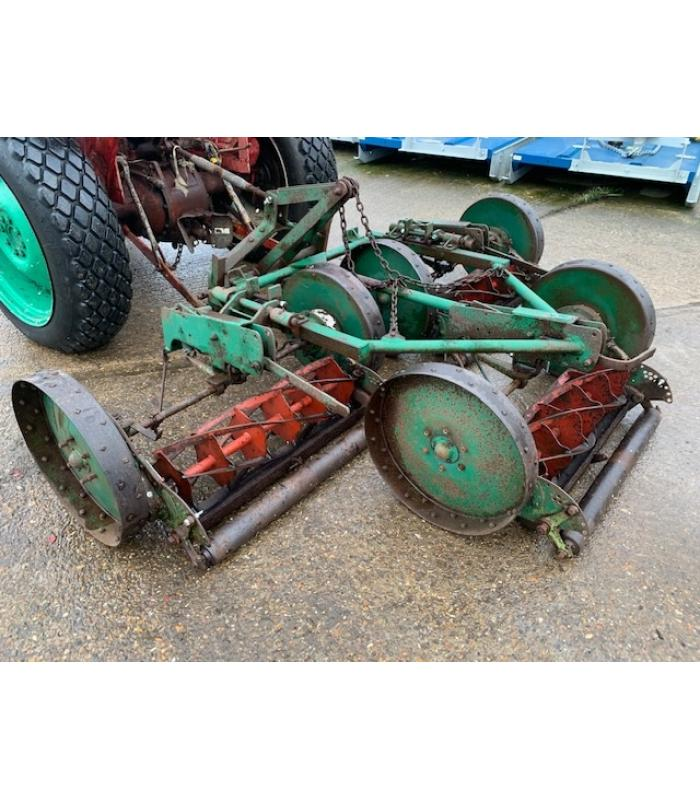 Ransomes Mounted Triple Gang Mower