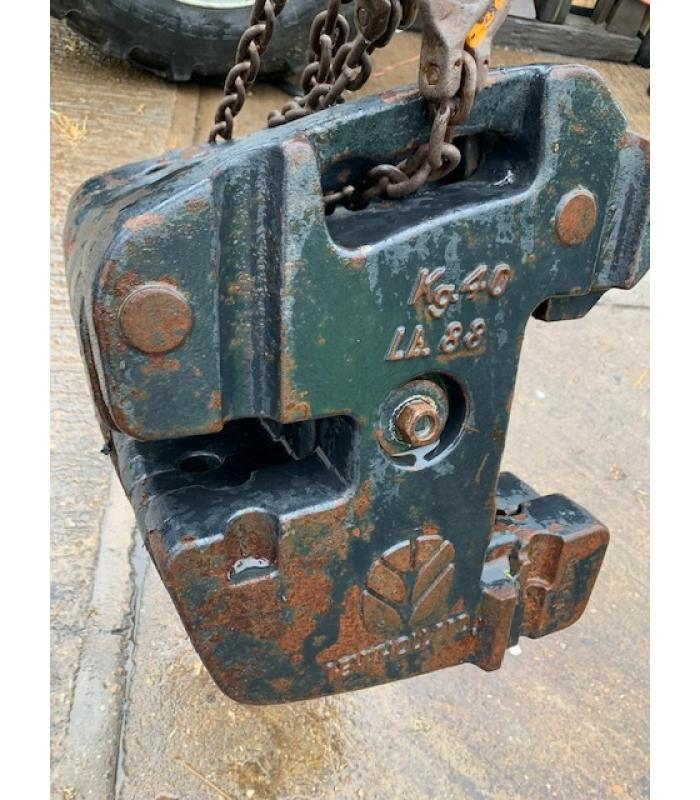 Set of New Holland 40Kg Front Weights