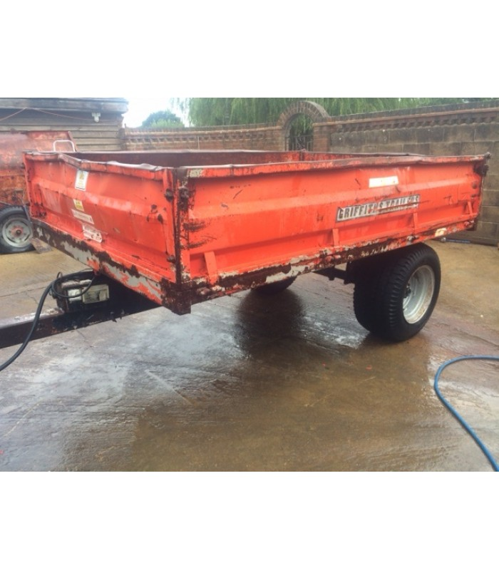 Griffiths GDS 40 Tipping Trailer