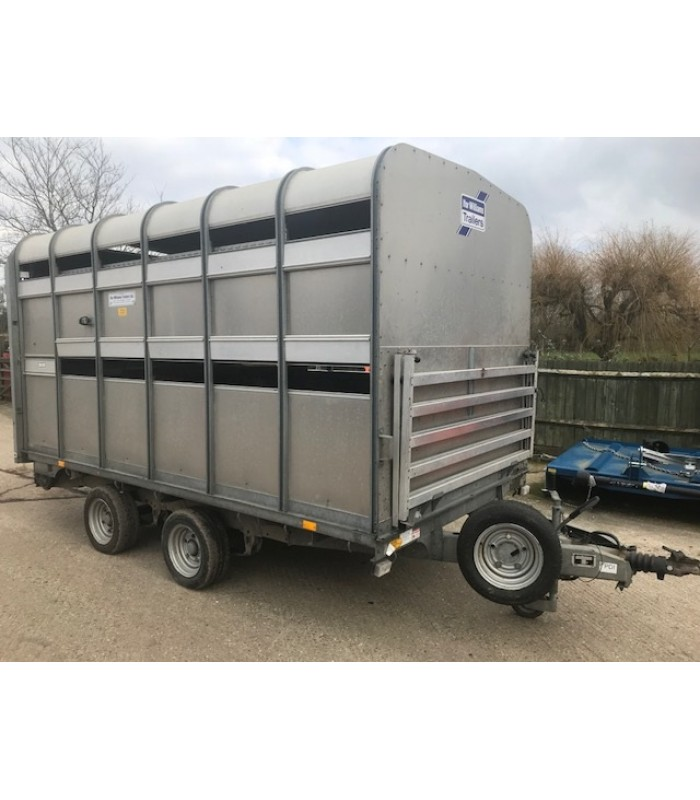 Ifor Williams DP-1205-12 Livestock Trailer