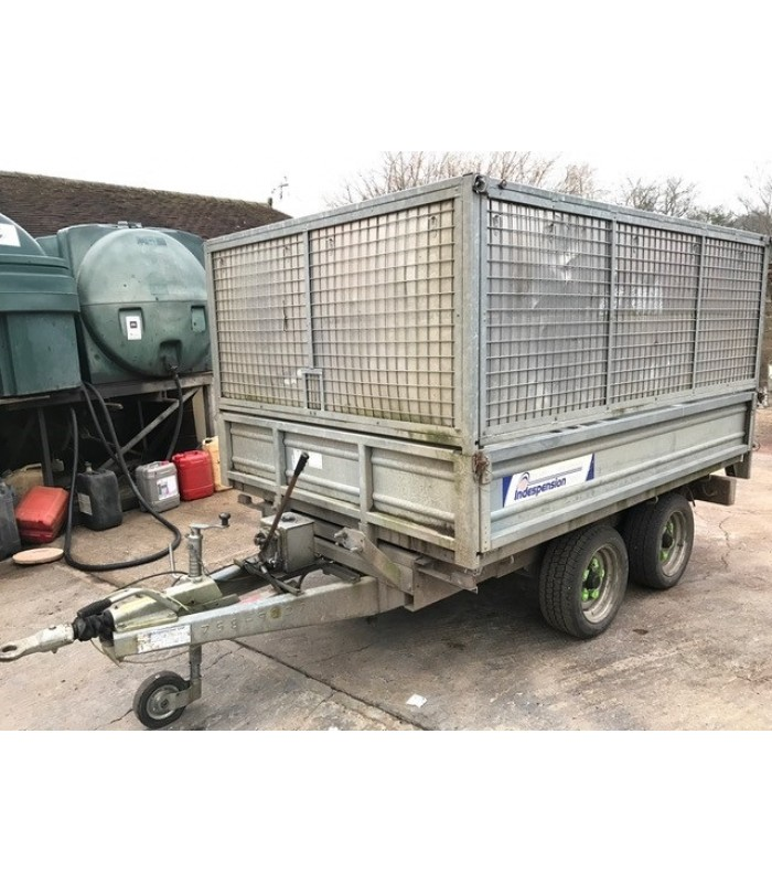 Indespension Fast Tow Tipping Trailer