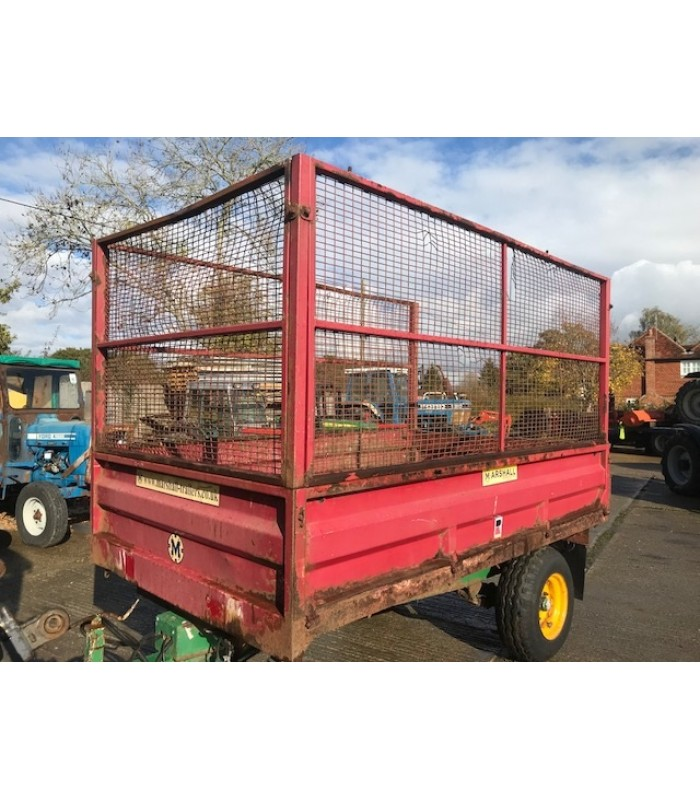 Marshall 4 Ton Tipping Trailer