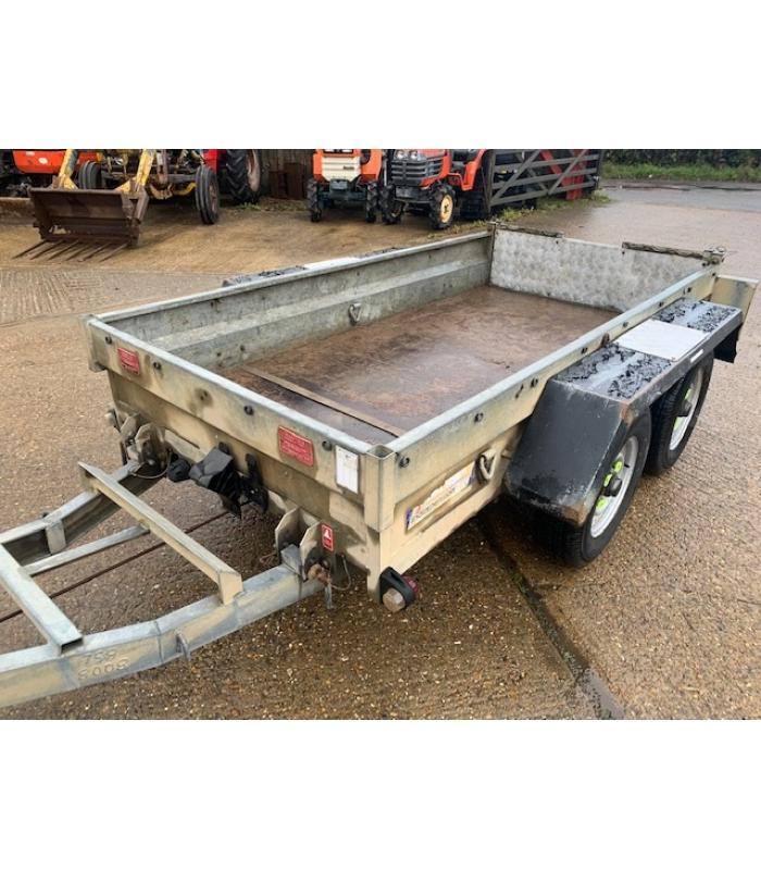 Indespension Twin Axle Mini Digger Trailer