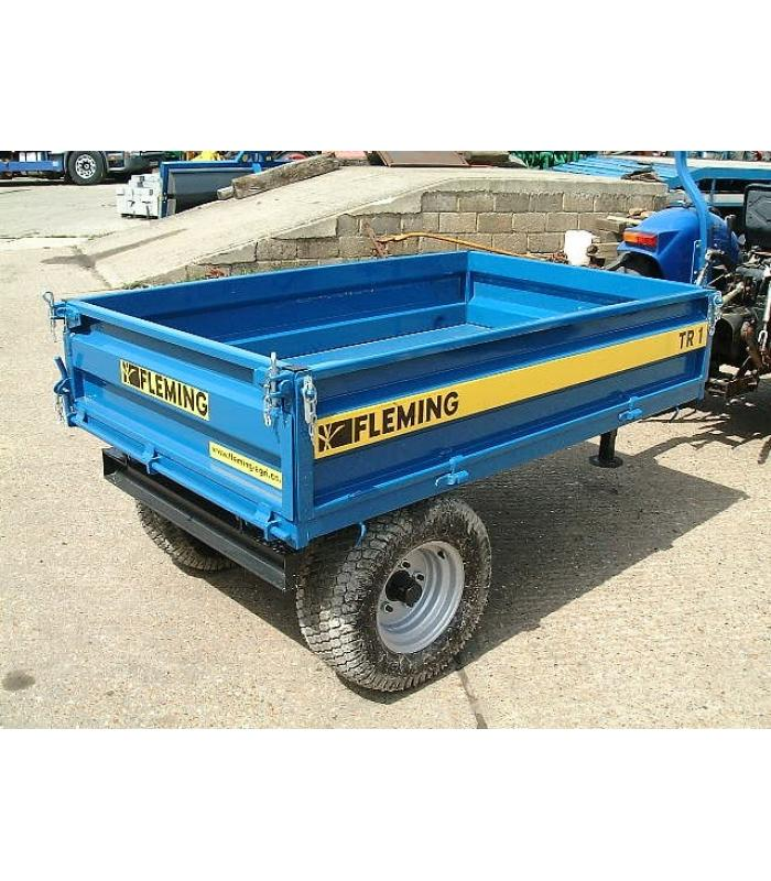 1.5 Ton Fleming Tipping Trailers