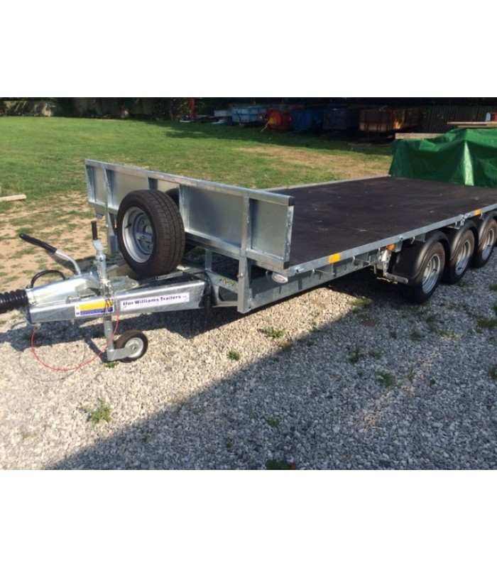Ifor Williams 16ft Tri-Axle Trailer