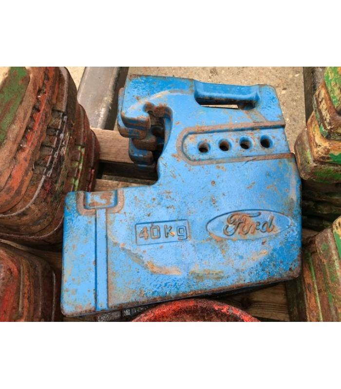 Ford 40kg Front Weights