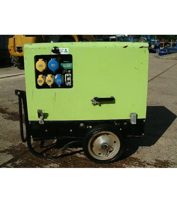 Pramac P6000s Mobile Diesel Generator