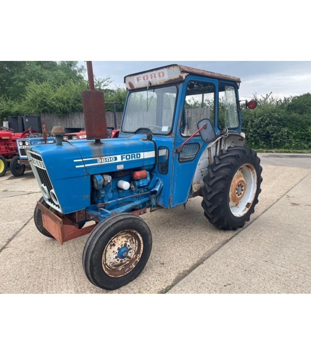Ford 3600 Tractor Data : Ford