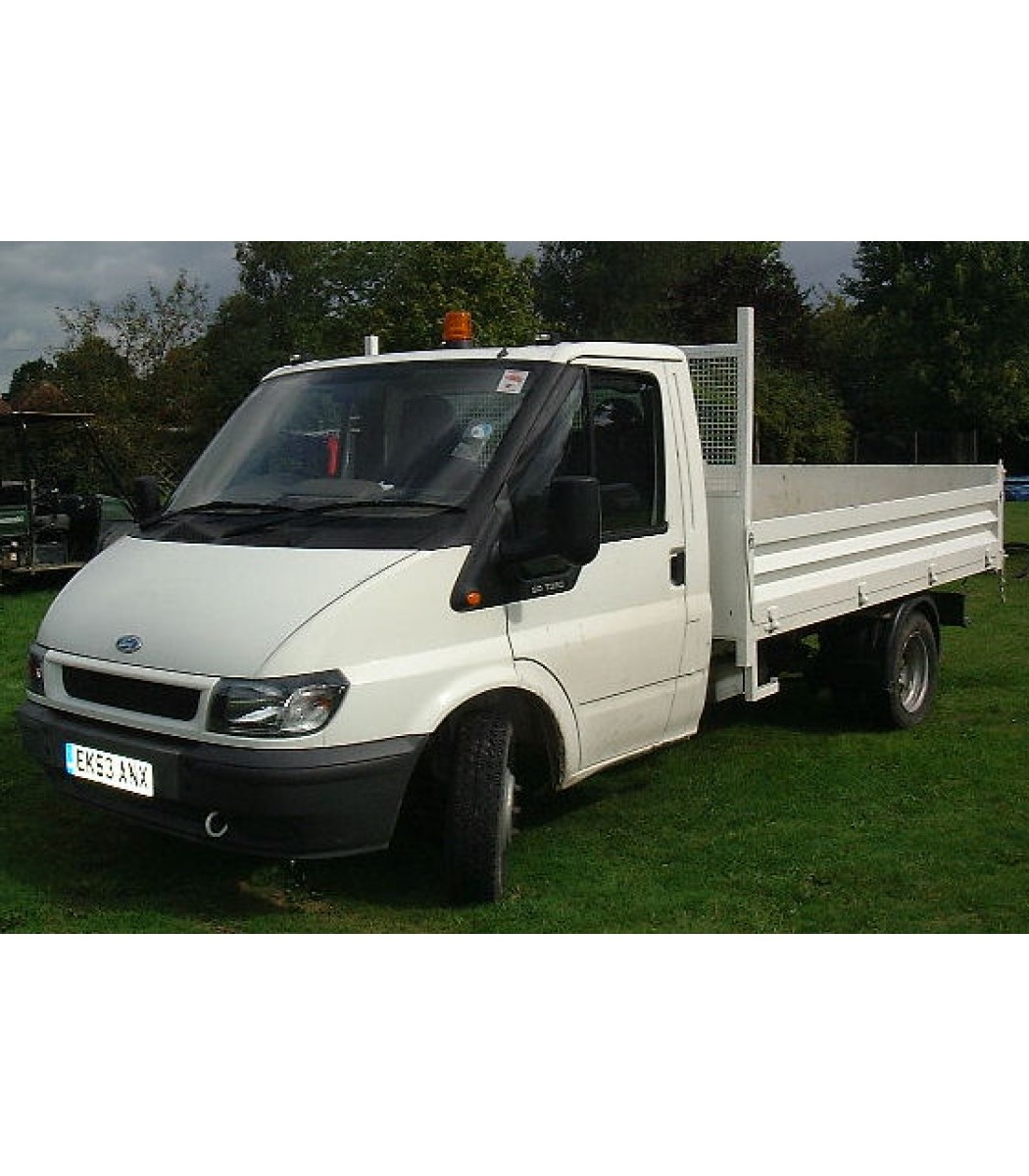 Ford Transit 350 Lwb Specificaties: Ford Transit 90T350 Tipper