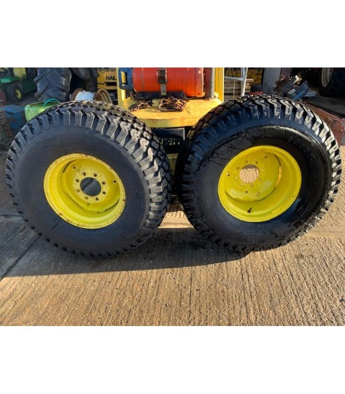 Set of 4 JD 4520 Grassland Wheels and Tyres