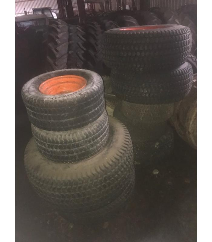 Kubota Various Rear and Front Grassland Wheels and Tyres