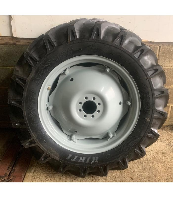 New 12.4-28 Rear Wheels and Tyres