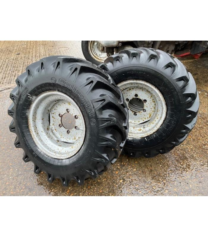 Pair 11.5 80-15.3 Wheels and Tyres