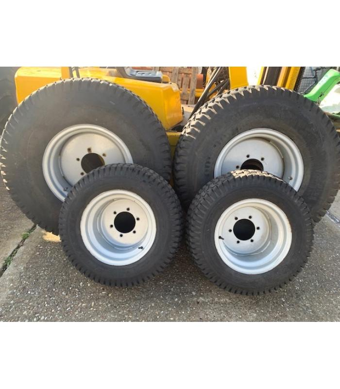 Set of Grassland Wheels and Tyres