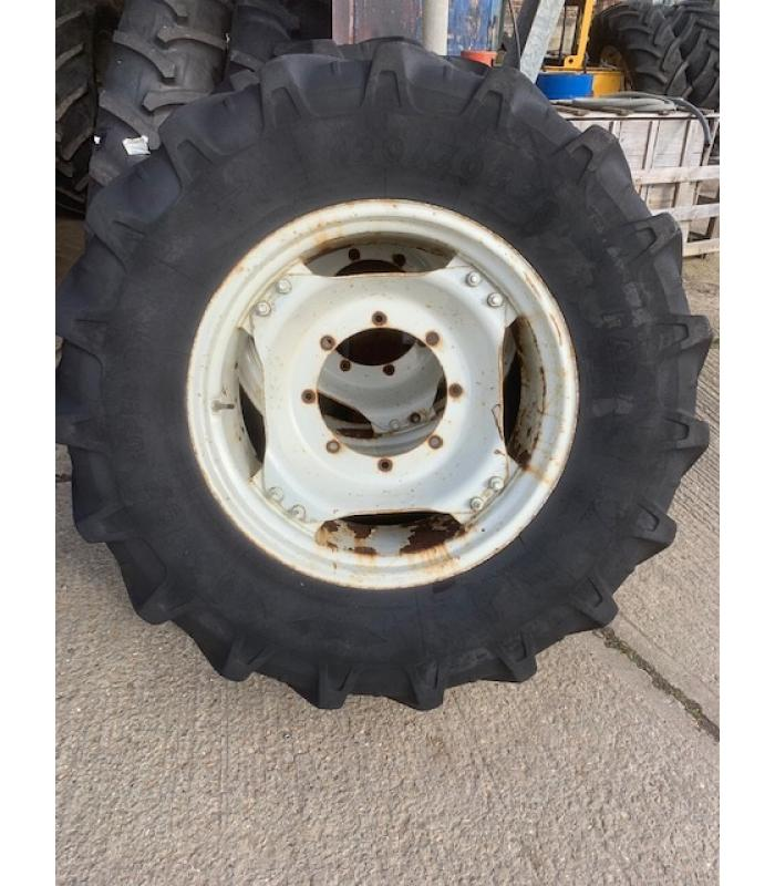 Set of 4 Tractor 4x4 Wheels and Tyres